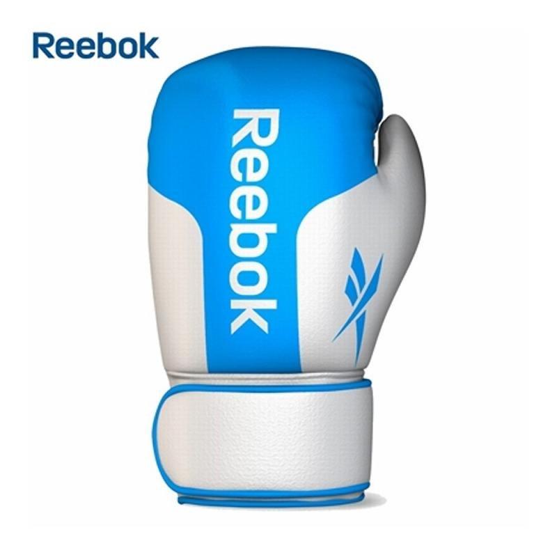 Bílo-modré boxerské rukavice Reebok