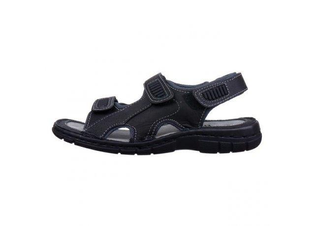 Černé sandály EFFE TRE