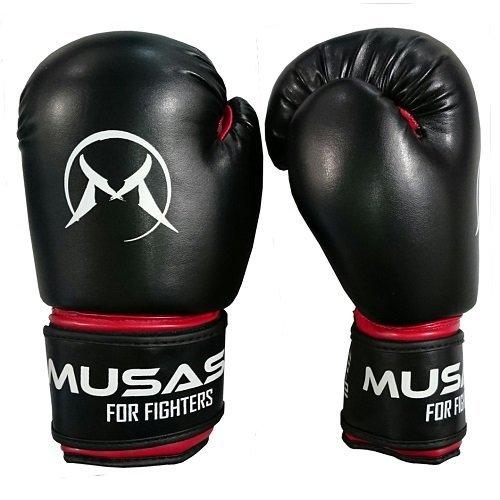 Černé boxerské rukavice Musashi