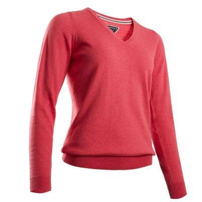 Růžový dámský golfový svetr Inesis
