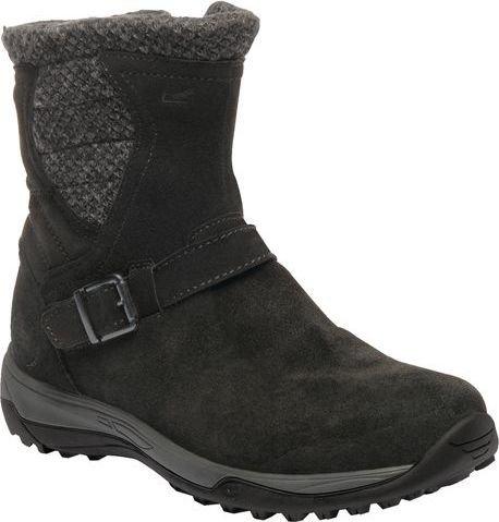 Černé dámské zimní boty Regatta - velikost 36 EU