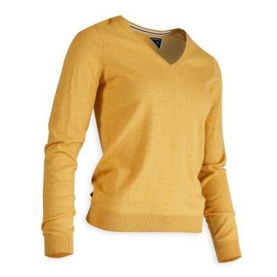 Žlutý dámský golfový svetr Inesis - velikost XXL
