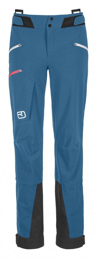 Modré dámské kalhoty na běžky Ortovox - velikost M