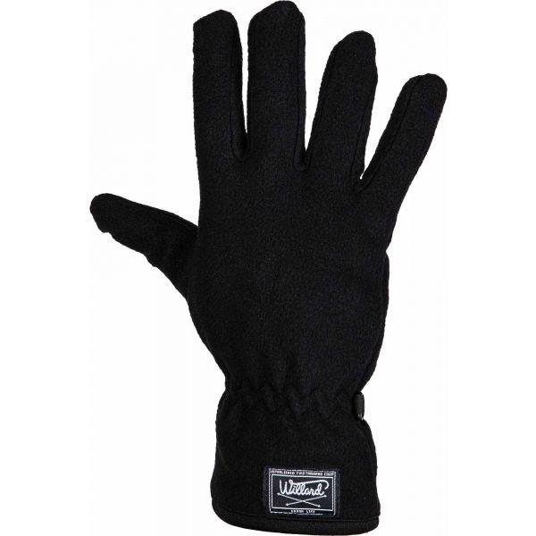 Černé pánské zimní rukavice Willard