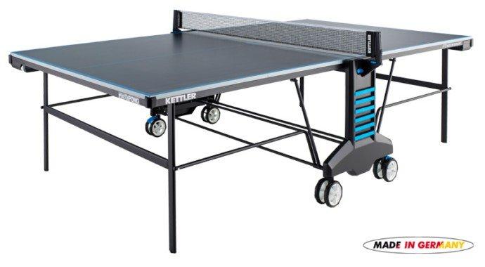 Černý venkovní stůl na stolní tenis SKETCH&PONG, Kettler