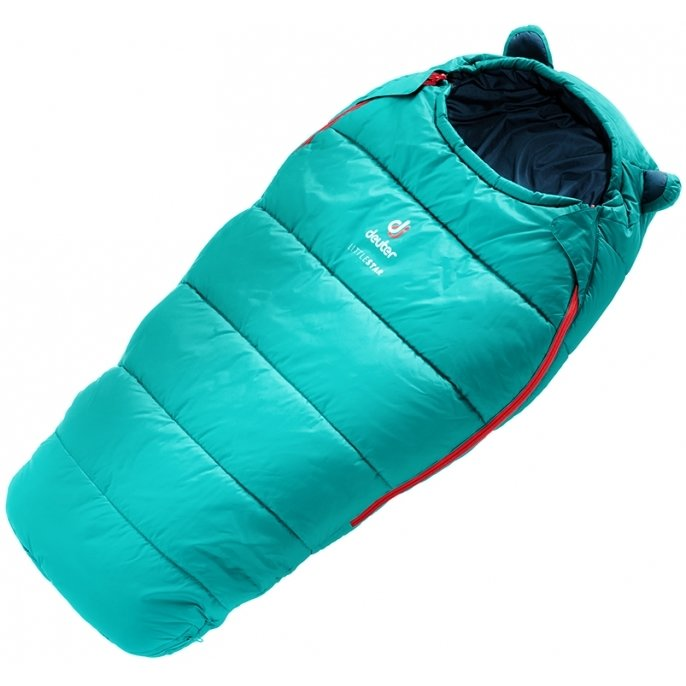Modrý dětský spací pytel Little Star, Deuter - délka 160 cm