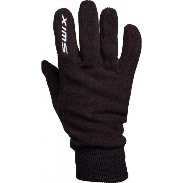 Černé pánské rukavice na běžky Swix