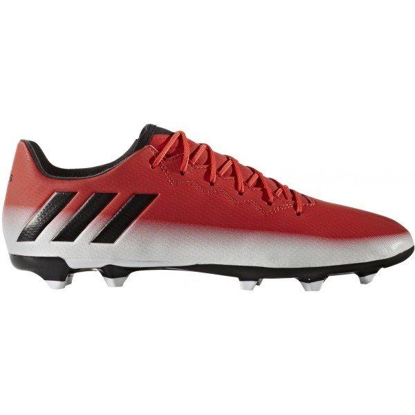 Bílo-červené pánské kopačky lisovky Adidas