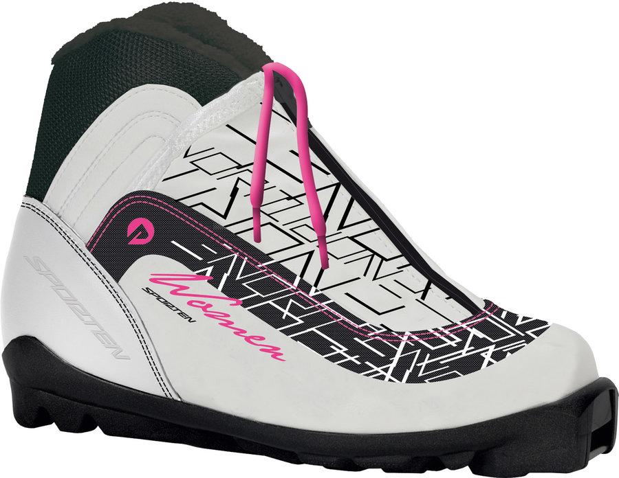 Bílé dámské boty na běžky Sporten