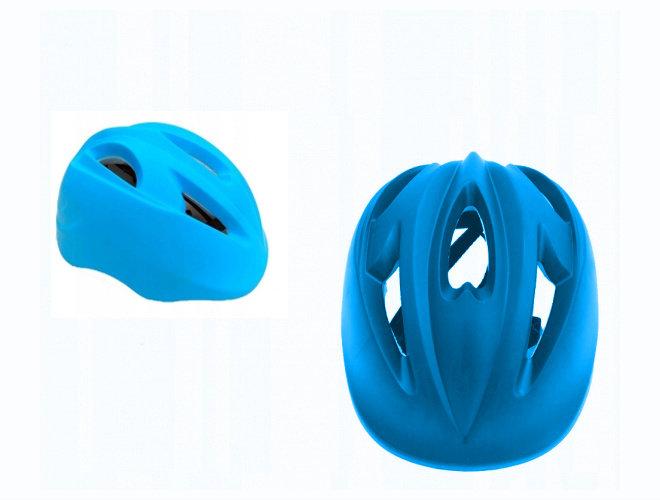 Modrá dětská cyklistická helma - velikost 52-56 cm