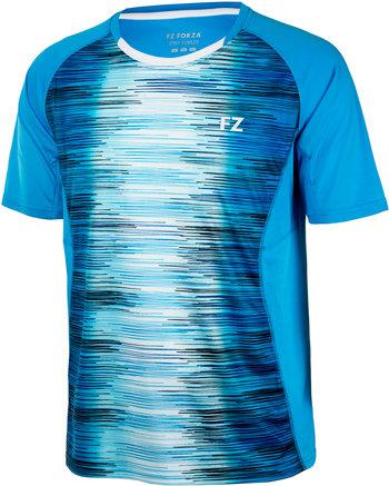 Modré pánské funkční tričko s krátkým rukávem FZ Forza