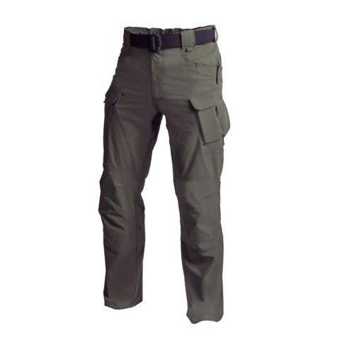 Kalhoty - Kalhoty OUTDOOR TACTICAL® softshell TAIGA GREEN