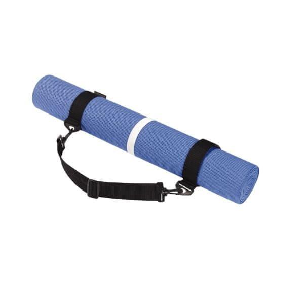 Podložka na jógu - Rucanor Yoga Mat with belt podložka na cvičení - modrá