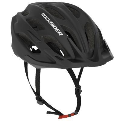 Černá cyklistická helma RockRider