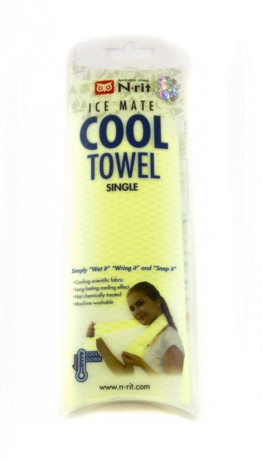 Ručník - Chladivý ručník N-Rit Cool Towel Single Barva: světle zelená