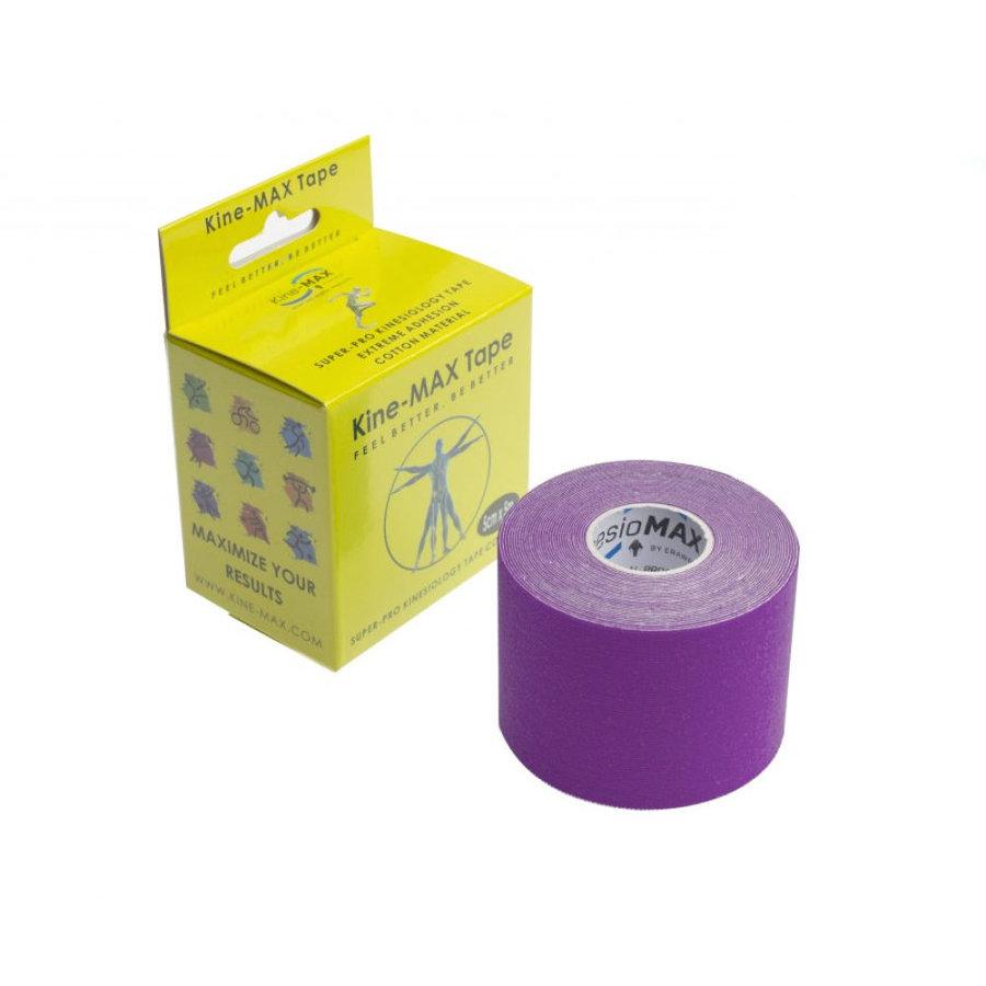 Fialová tejpovací páska kine-max - délka 5 m a šířka 5 cm