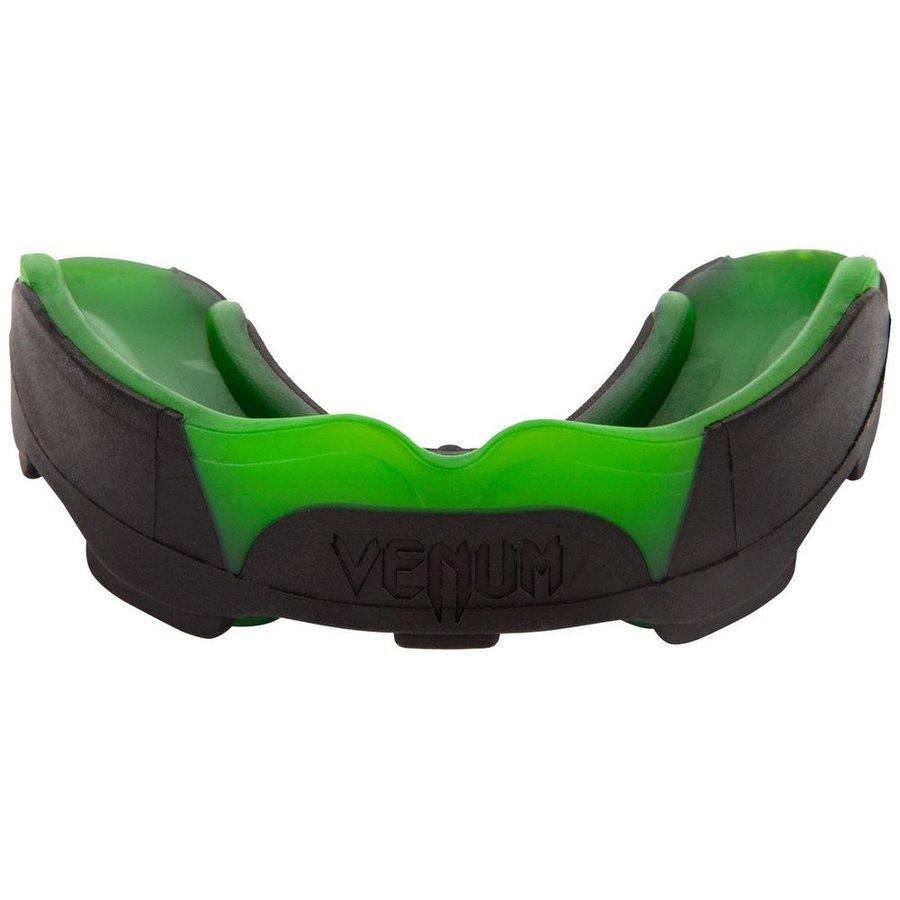 Černo-zelený chránič na zuby Venum