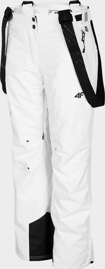 Bílé dámské lyžařské kalhoty 4F