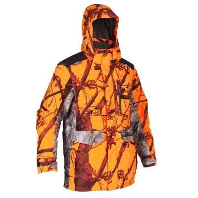 Oranžová lovecká bunda Solognac