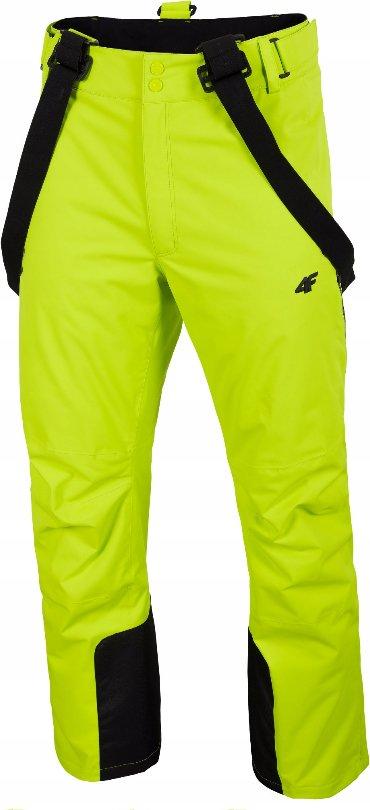 Zelené pánské lyžařské kalhoty 4F
