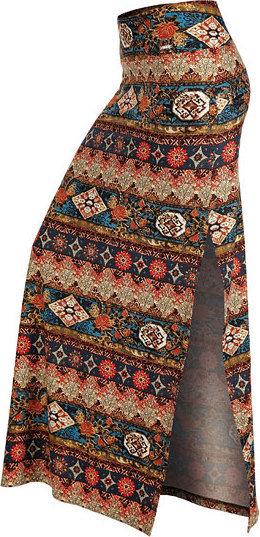 Různobarevná dámská sukně Litex - velikost M