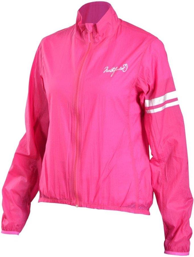 Růžová dámská cyklistická bunda NorthFinder