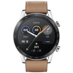 Hnědé chytré hodinky Watch Magic 2, Honor