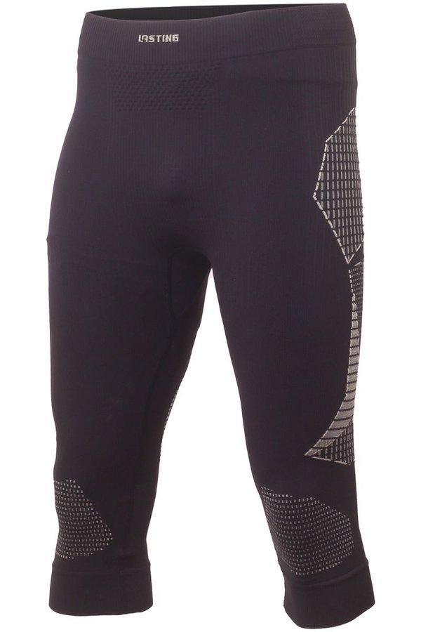 Černé pánské funkční kalhoty Lasting