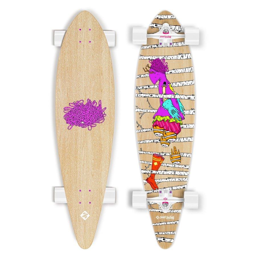 """Longboard - Longboard Street Surfing Pintail - Woods 40"""""""