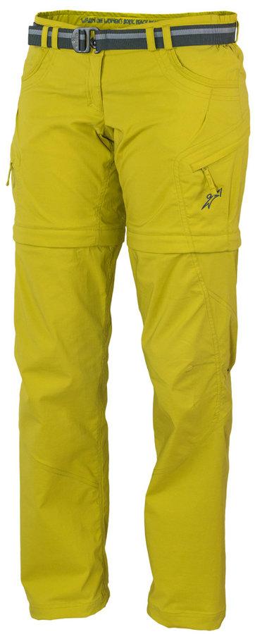 Žluté dámské kalhoty Warmpeace - velikost XS