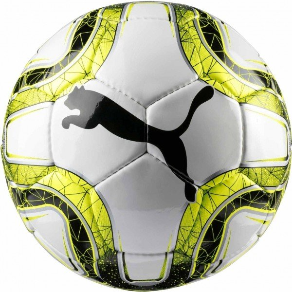 Bílo-žlutý fotbalový míč Puma