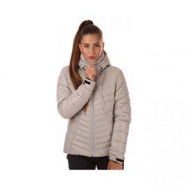 Šedá zimní dámská bunda s kapucí Nordblanc