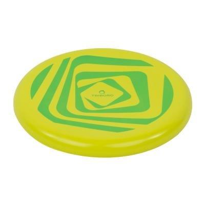 Zeleno-žluté pěnové frisbee Olaian - průměr 20,5 cm