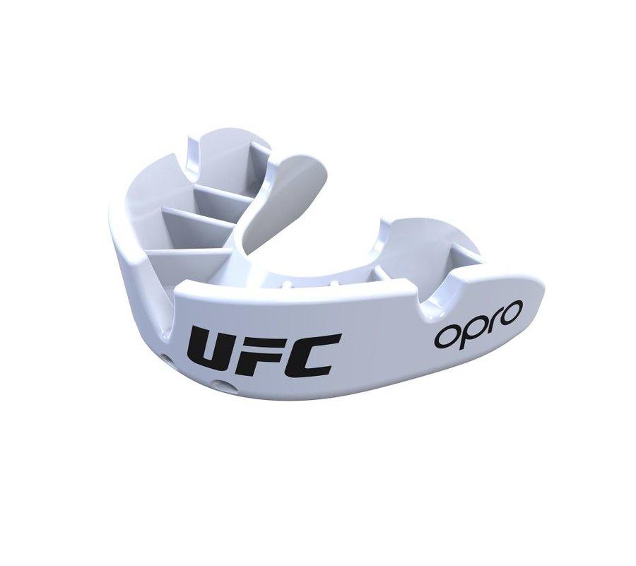 Bílý chránič na zuby na bojové sporty UFC