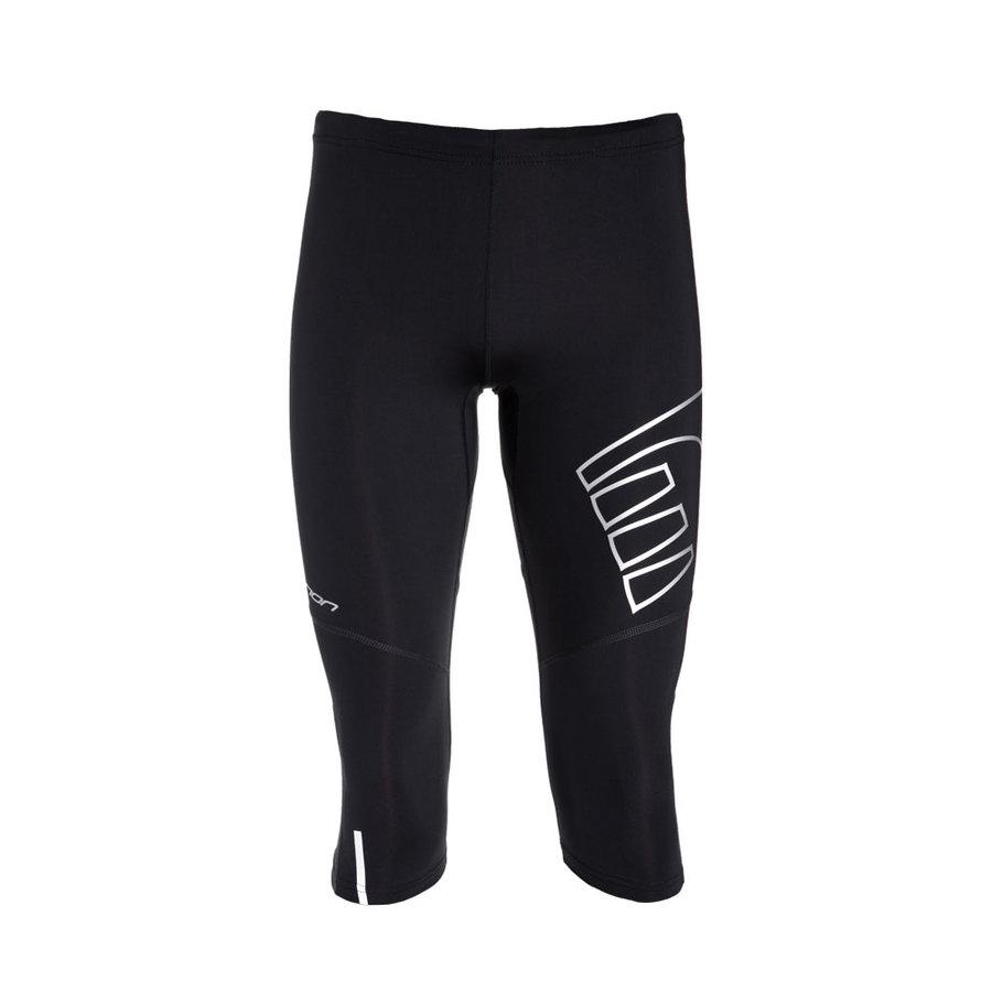 Dlouhé unisex běžecké kalhoty ICONIC Compression Knee Tight, Newline - velikost S