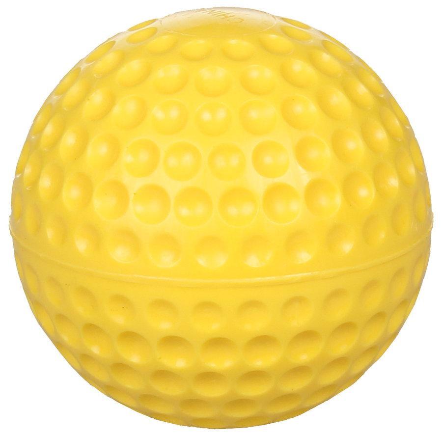 Žlutý polyuretanový baseballový míček Merco