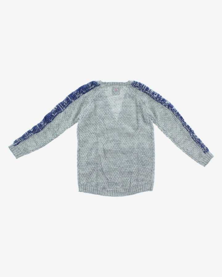 Šedý dívčí svetr Pepe Jeans - velikost 164