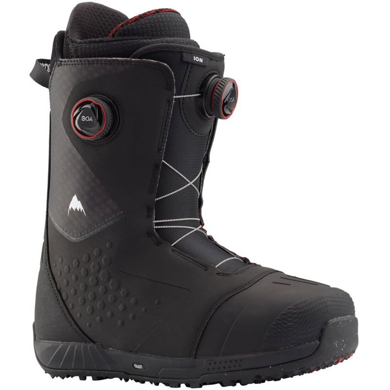 Černé pánské boty na snowboard Burton - velikost 44,5 EU