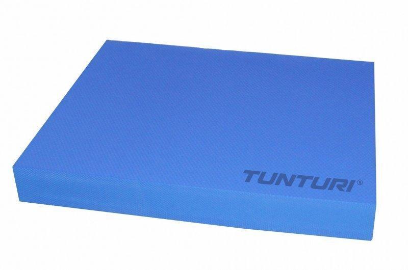 Modrý jóga blok Tunturi - délka 48 cm, šířka 40 cm a výška 6 cm