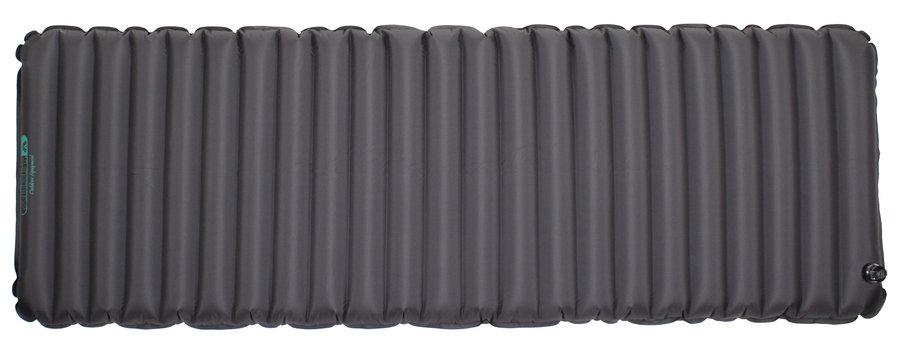 Černá karimatka Abbey Camp - tloušťka 9 cm