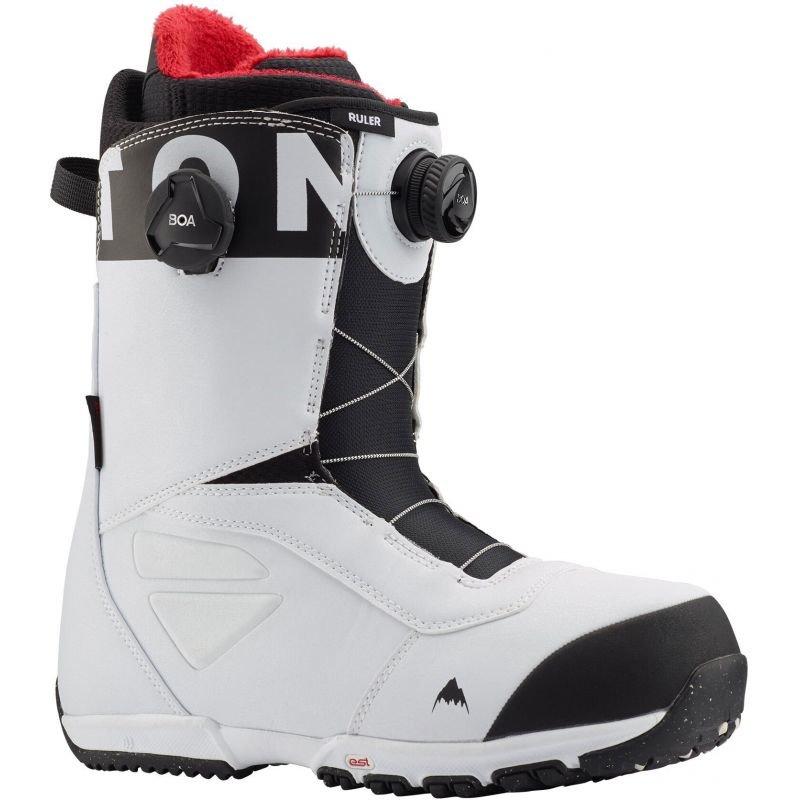 Bílé pánské boty na snowboard Burton