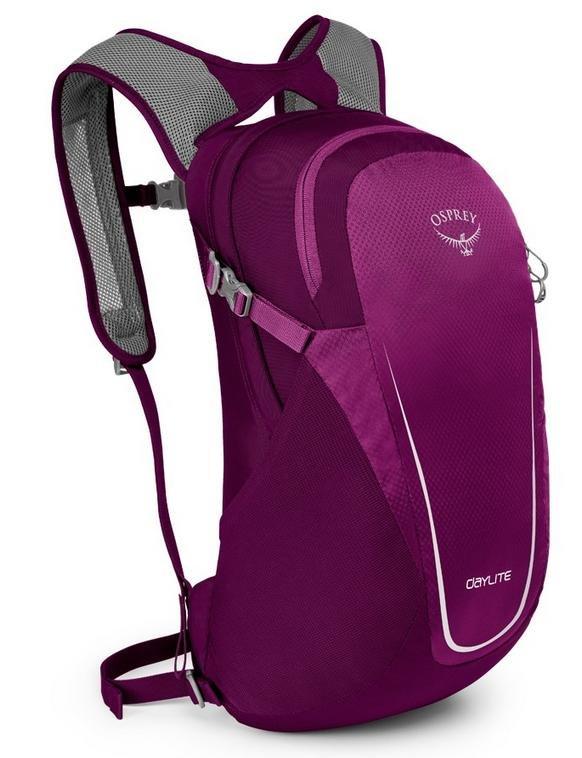 Fialový batoh Osprey - objem 13 l