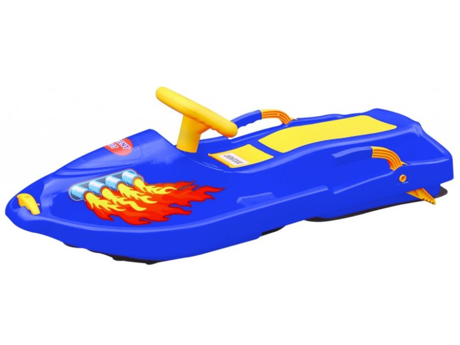 Boby - Plastkon Snow Boat modrý
