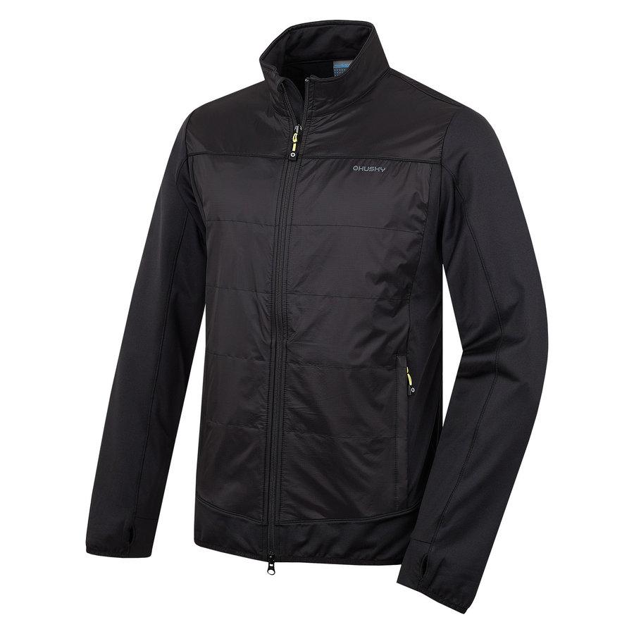 Černá pánská bunda Husky