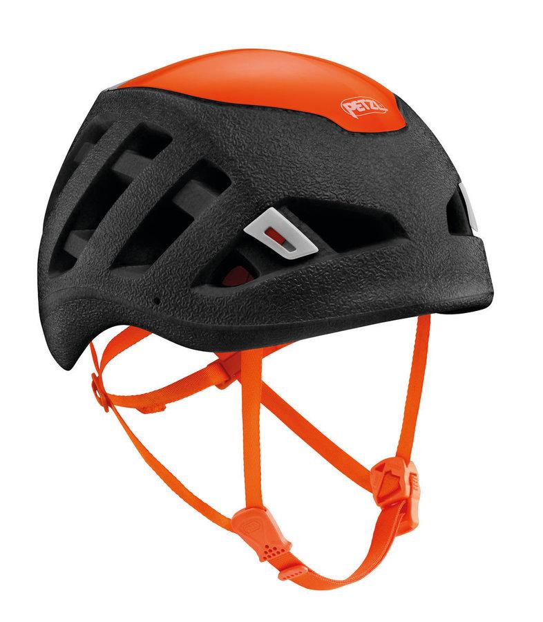 Černá dámská horolezecká helma Petzl