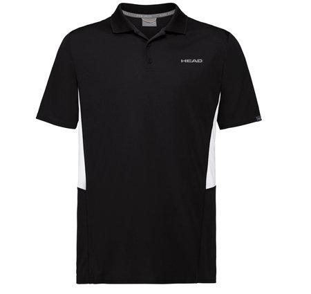 Černé pánské tričko s krátkým rukávem Head