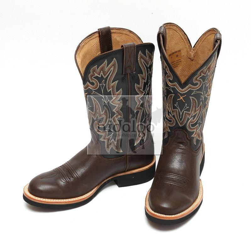 Hnědé unisex jezdecké boty Twisted Boots