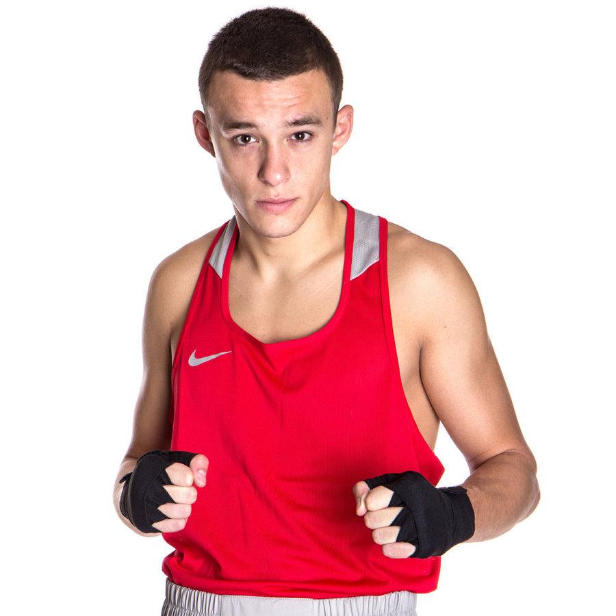 Červené boxerské tílko Nike - velikost XL
