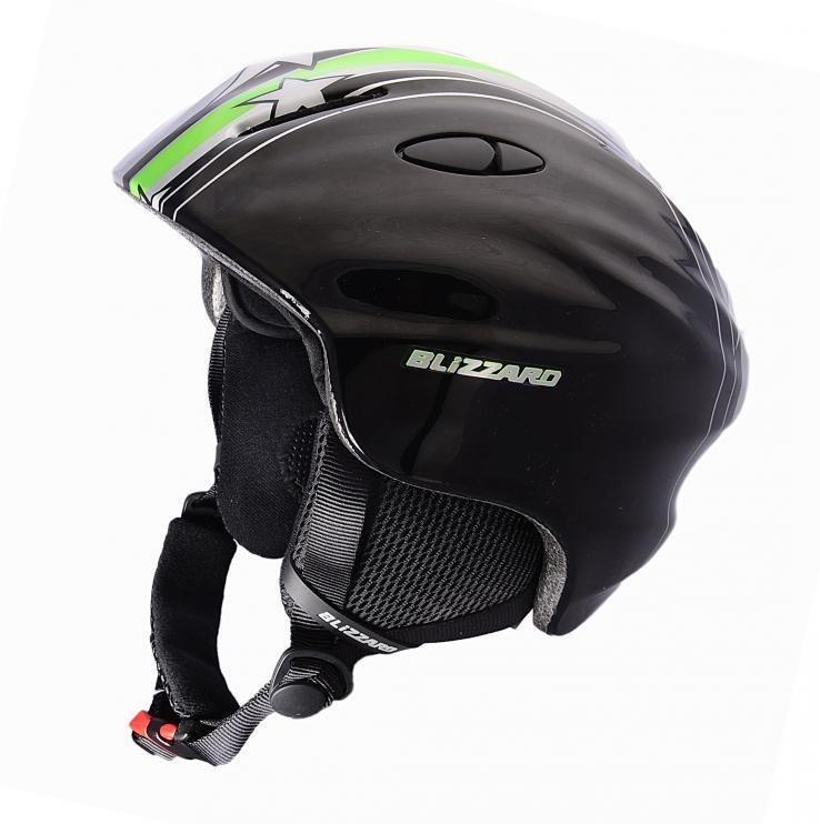 Šedá lyžařská helma Blizzard - velikost 48-52 cm