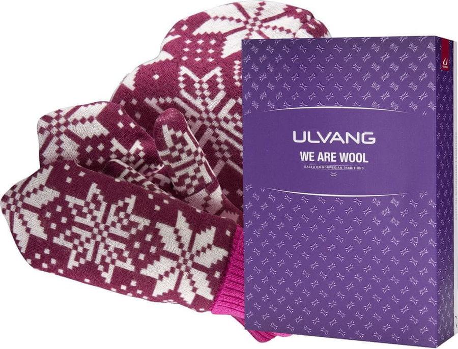Růžová dámská zimní čepice Ulvang